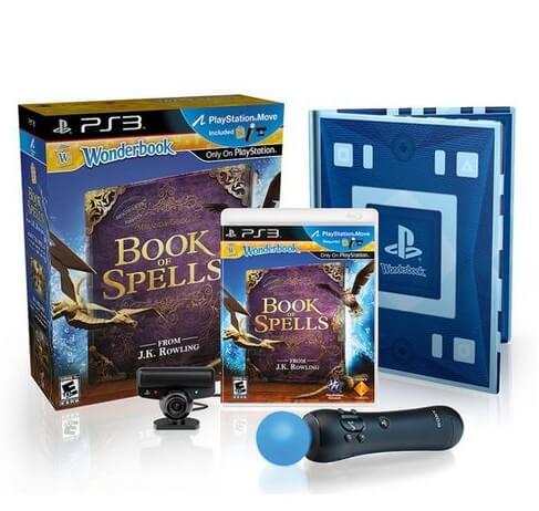 Sony_PlayStation_3 Super_Slim_12GB_Wonderbook_Księga_Czarów
