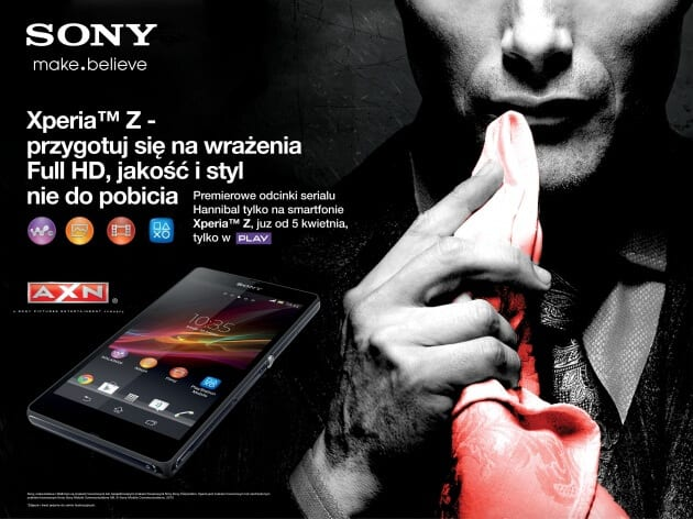 materiały marketingowe AXN_Sony Mobile