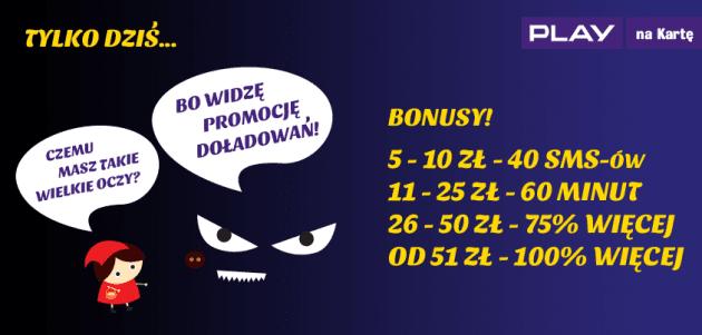 Prepaid promo - czerwony kapturek v1e