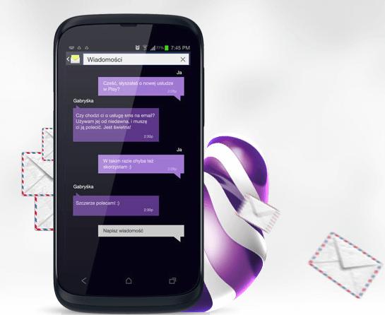 Usługi   Wiadomości SMS i MMS na E mail   Play (6)