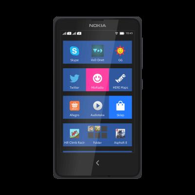 Nokia X grafika