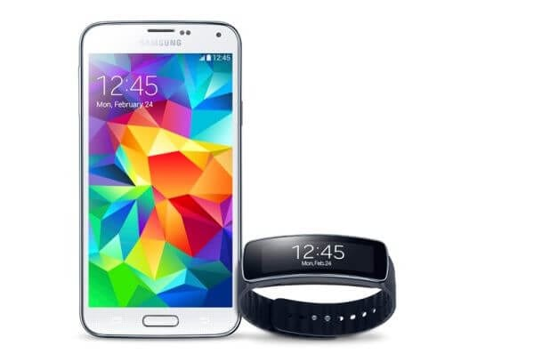 Samsung Galaxy S5 Gear Fit