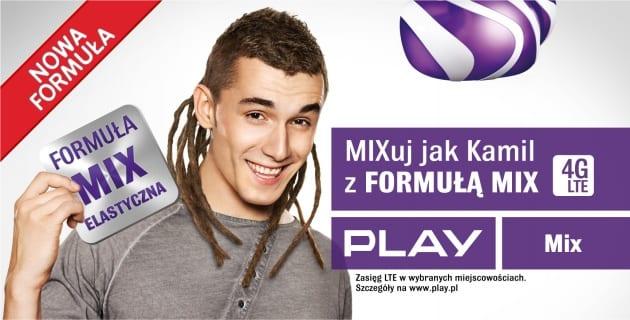 Billboard Kamil Bednarek FORMULA MIX ELASTYCZNA