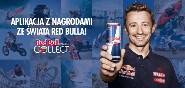 Aplikacja Red Bull MOBILE Collect