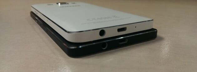 Samsung Galaxy A3 i A5 bottom