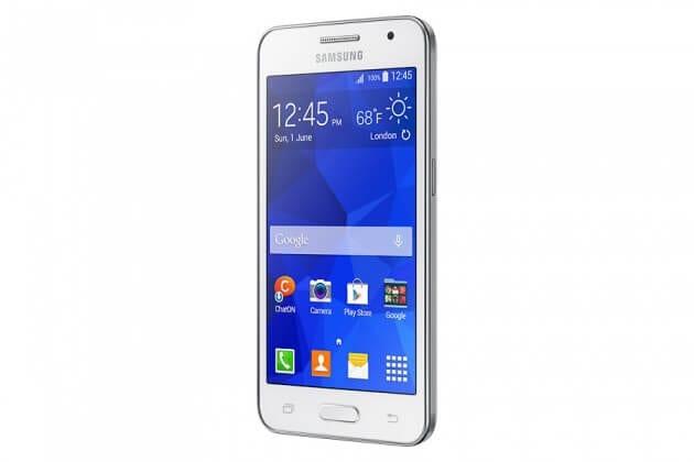 Samsung Galaxy Core 2 side