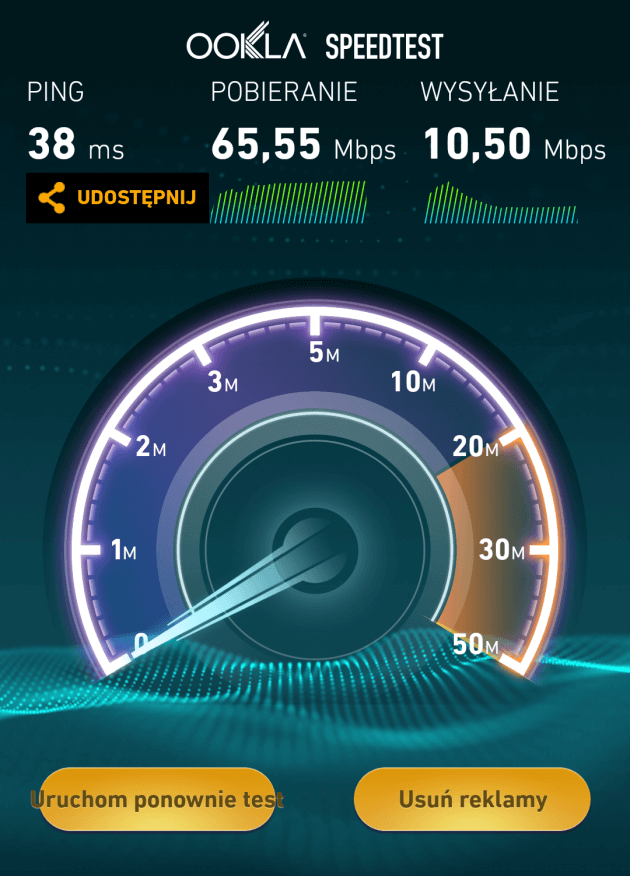 Wynik LTE