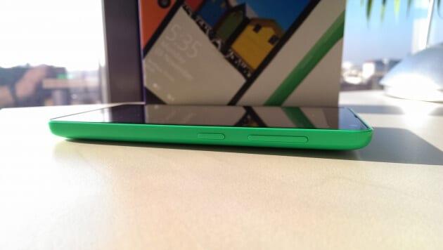 Microsoft Lumia 535 front