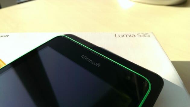 Microsoft Lumia 535 lean