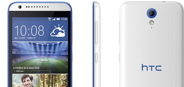 HTC Desire 620 white thumb