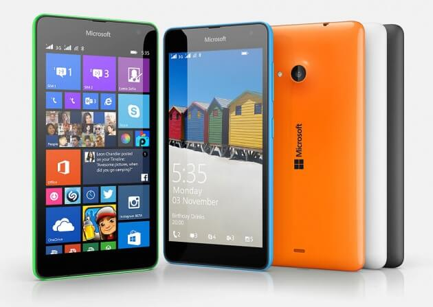 Microsoft Nokia Lumia 535 Dual SIM