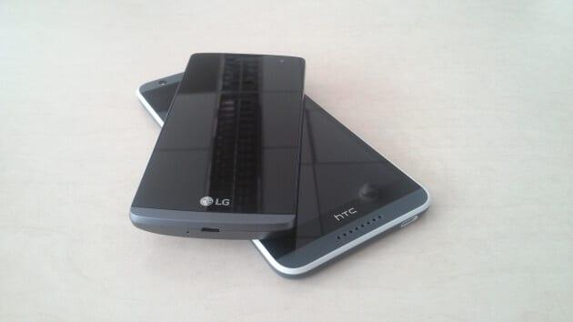 HTC Desire 820 LG Leon 4G LTE 1