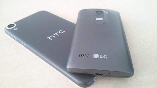 HTC Desire 820 LG Leon 4G LTE 2