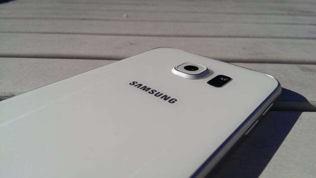 Sasmsung Galaxy S6 back