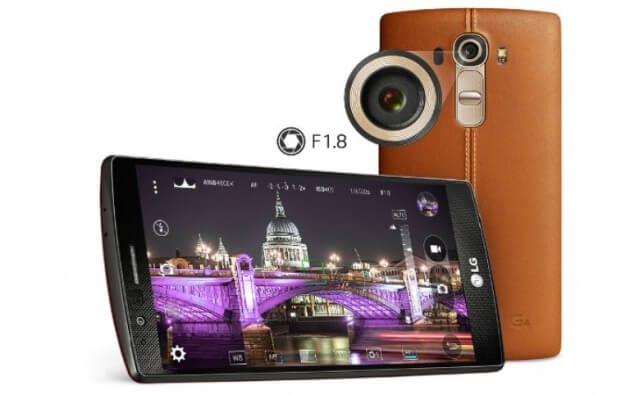 LG G4 aparat