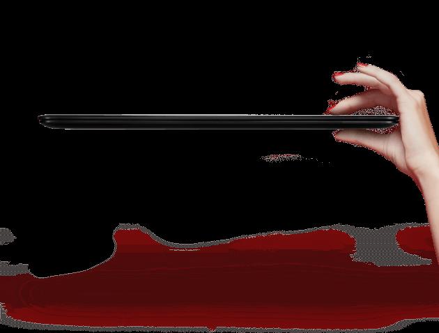 Asus ZenBook UX305 hand