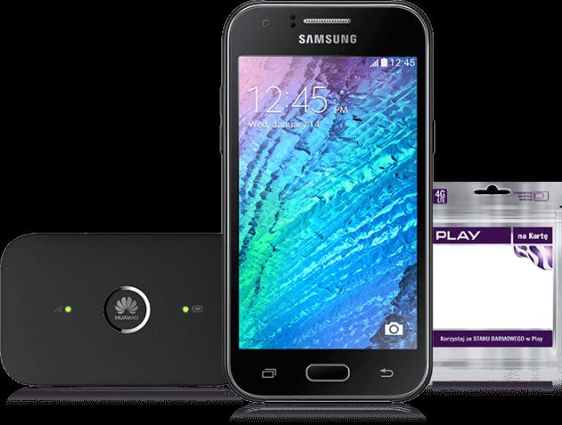 Samsung J1 router WiFi starter