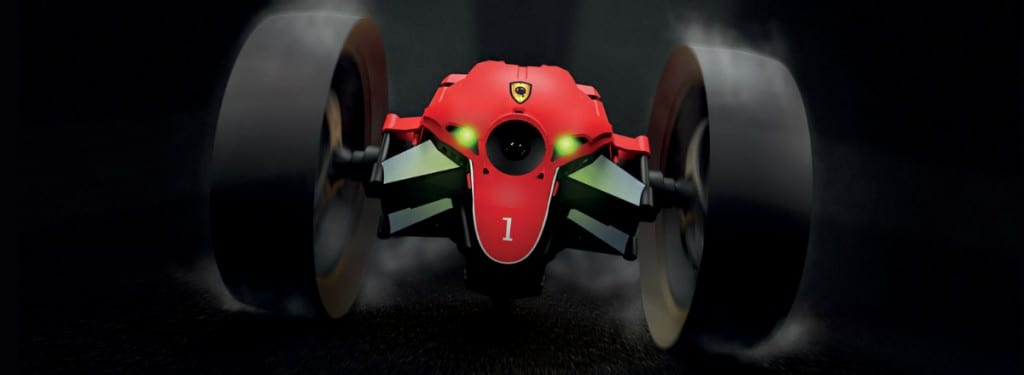Parrot Jumping Race Drone
