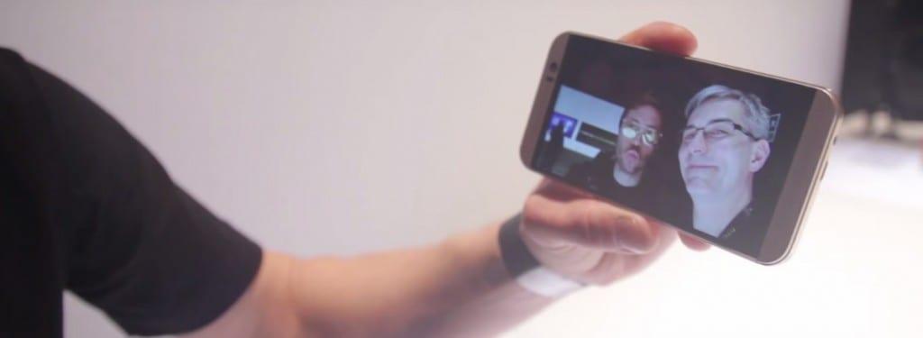 HTC One M9 selfie