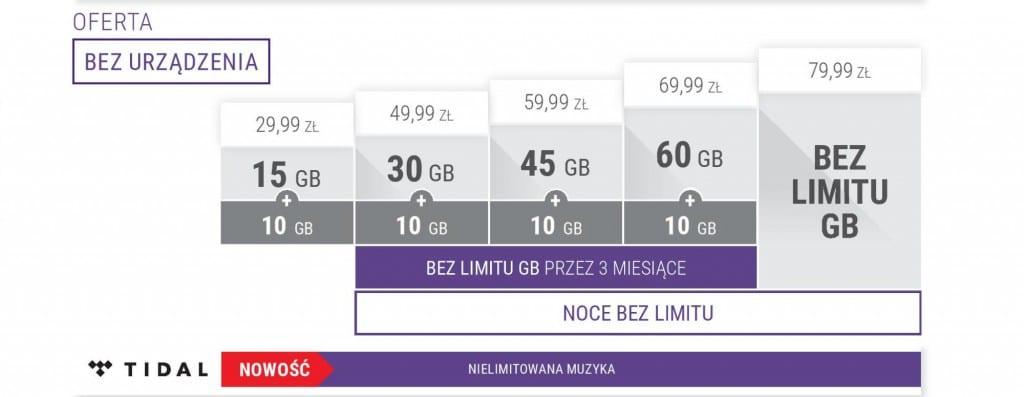 Oferta bez urzadzenia Play Internet