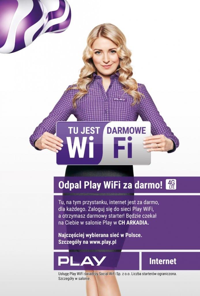 Wiata Wi-Fi Arkadia