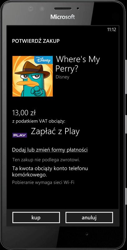 Microsoft Lumia 950 Zapłać z Play