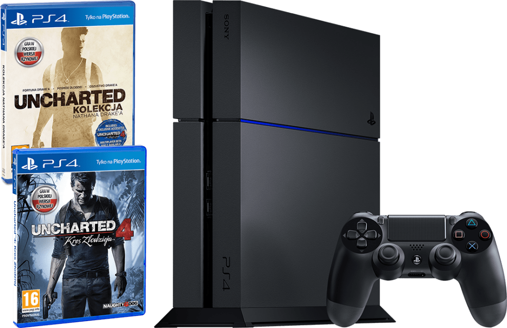 Sony PS4 PlayStation 4 1 TB Uncharted
