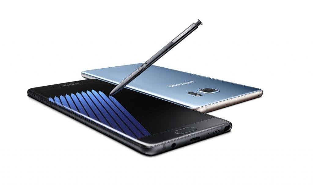 Samsung Galaxy Note 7 both